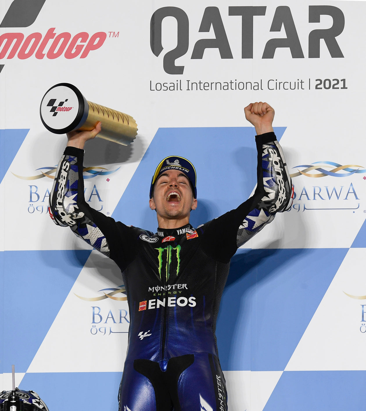 MAVERICK VINALES IS TOP GUN AFTER AGGRESSIVE RIDE SEES HIM SNATCH MOTOGP WIN IN QATAR; PECCO BAGNAIA THIRD