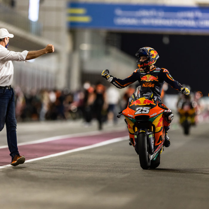 MOTO2 ROOKIE RAUL FERNANDEZ POWERS TO STRONG PODIUM FINISH UNDER THE FLOODLIGHTS IN QATAR