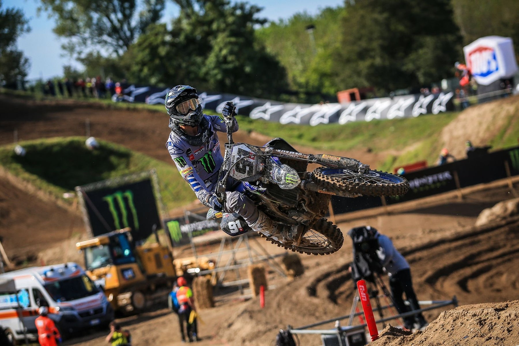 ALPINESTARS ONE, TWO AS JEREMY SEEWER TAKES FIRST OVERALL MXGP WIN AT MXGP OF LOMBARDIA, ITALY