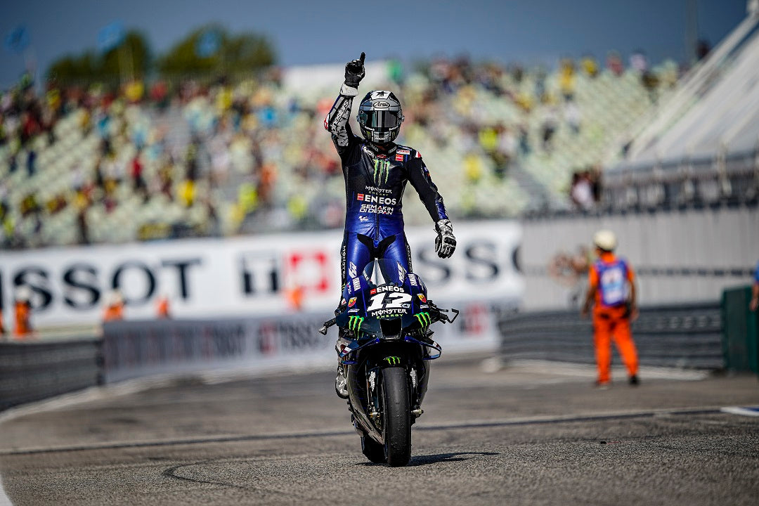 MAVERICK VINALES IS THE TOP GUN AT MISANO AFTER POWERING TO DOMINANT MOTOGP VICTORY IN ITALY