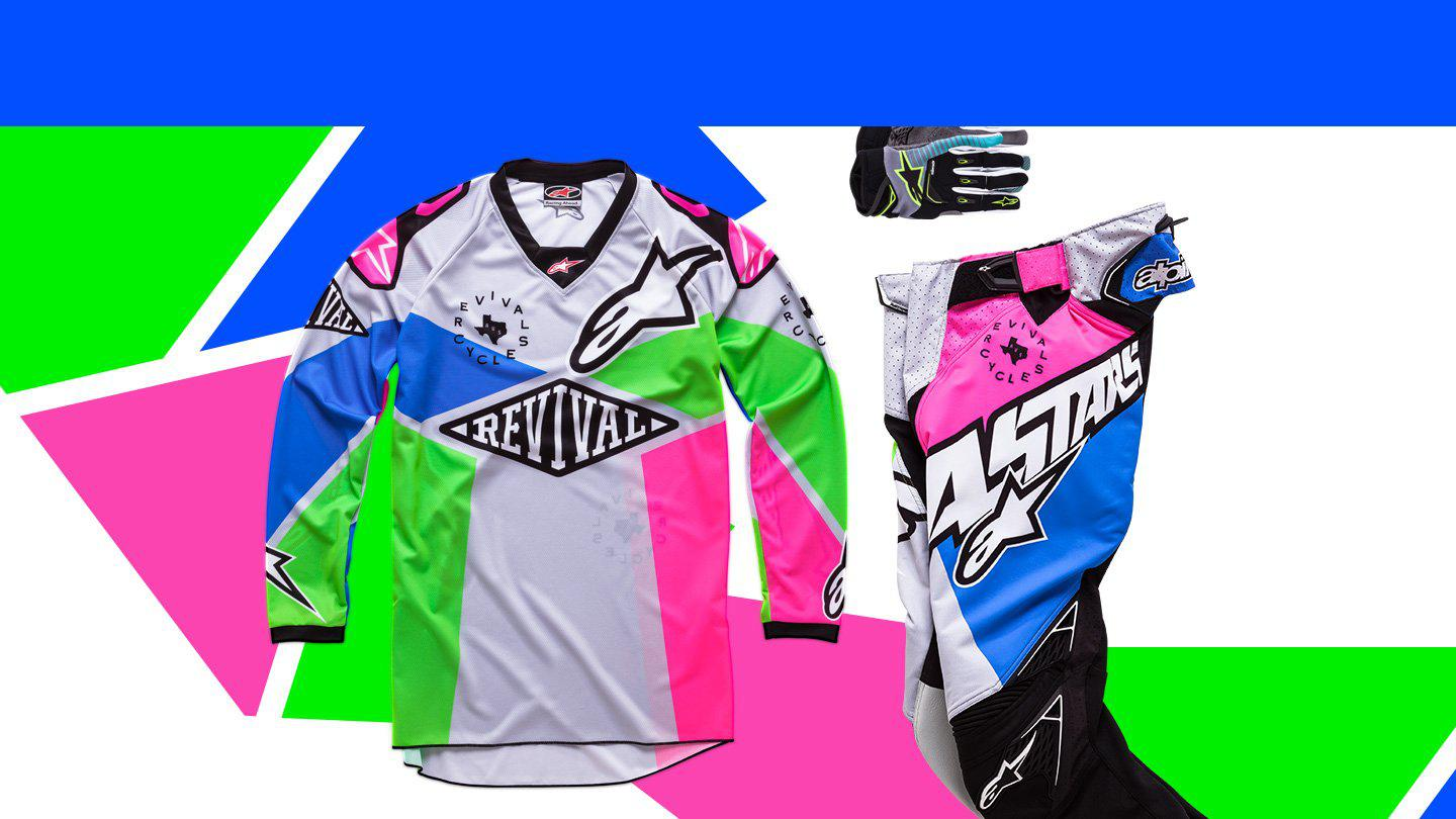 Revival Cycles & Alpinestars Get Loud