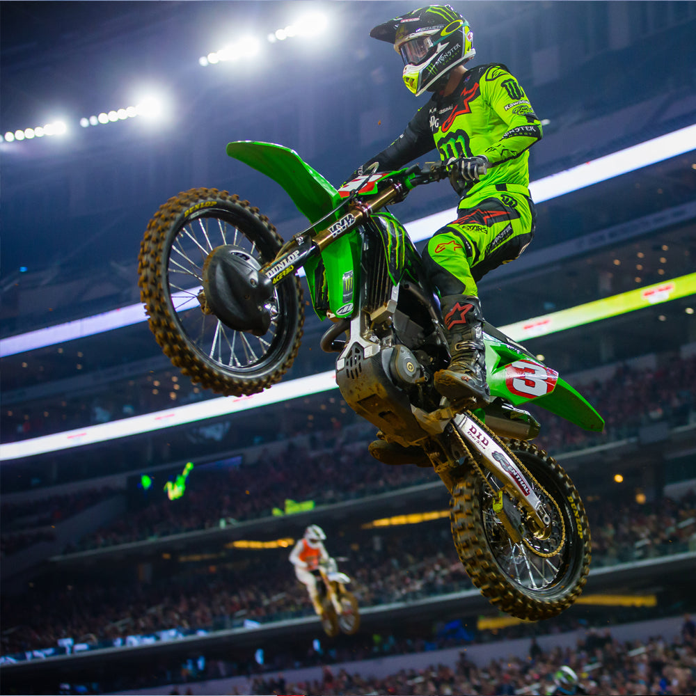 Eli Tomec races to 450SX crown in Texas