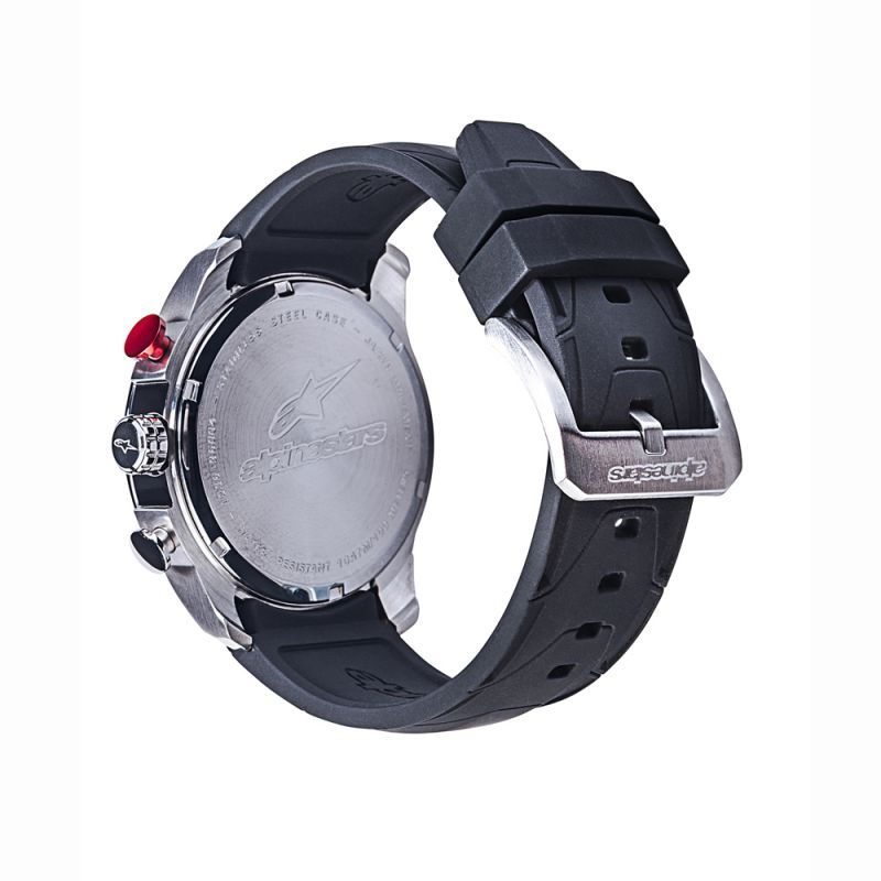 Tech Watch Chrono Steel-Black/Steel