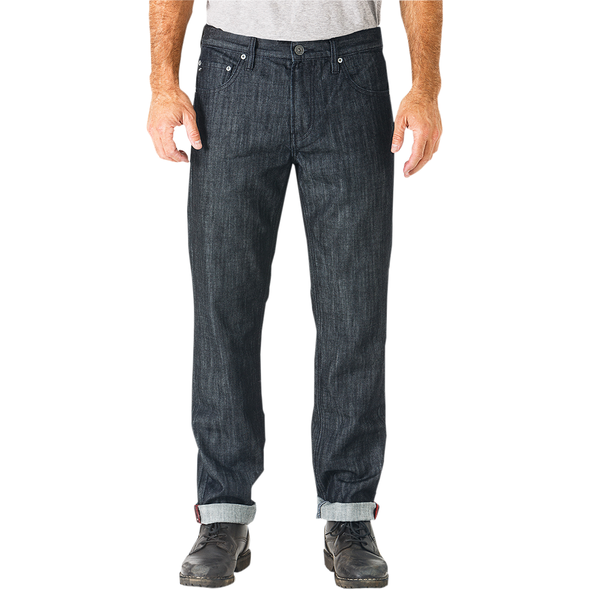 Tempered Denim Pants