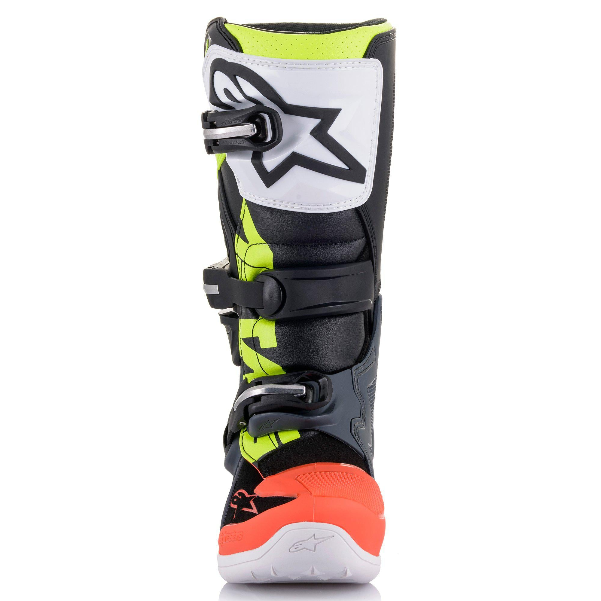 Alpinestars Tech 7S Youth MX Offroad Boots Red//White//Gray