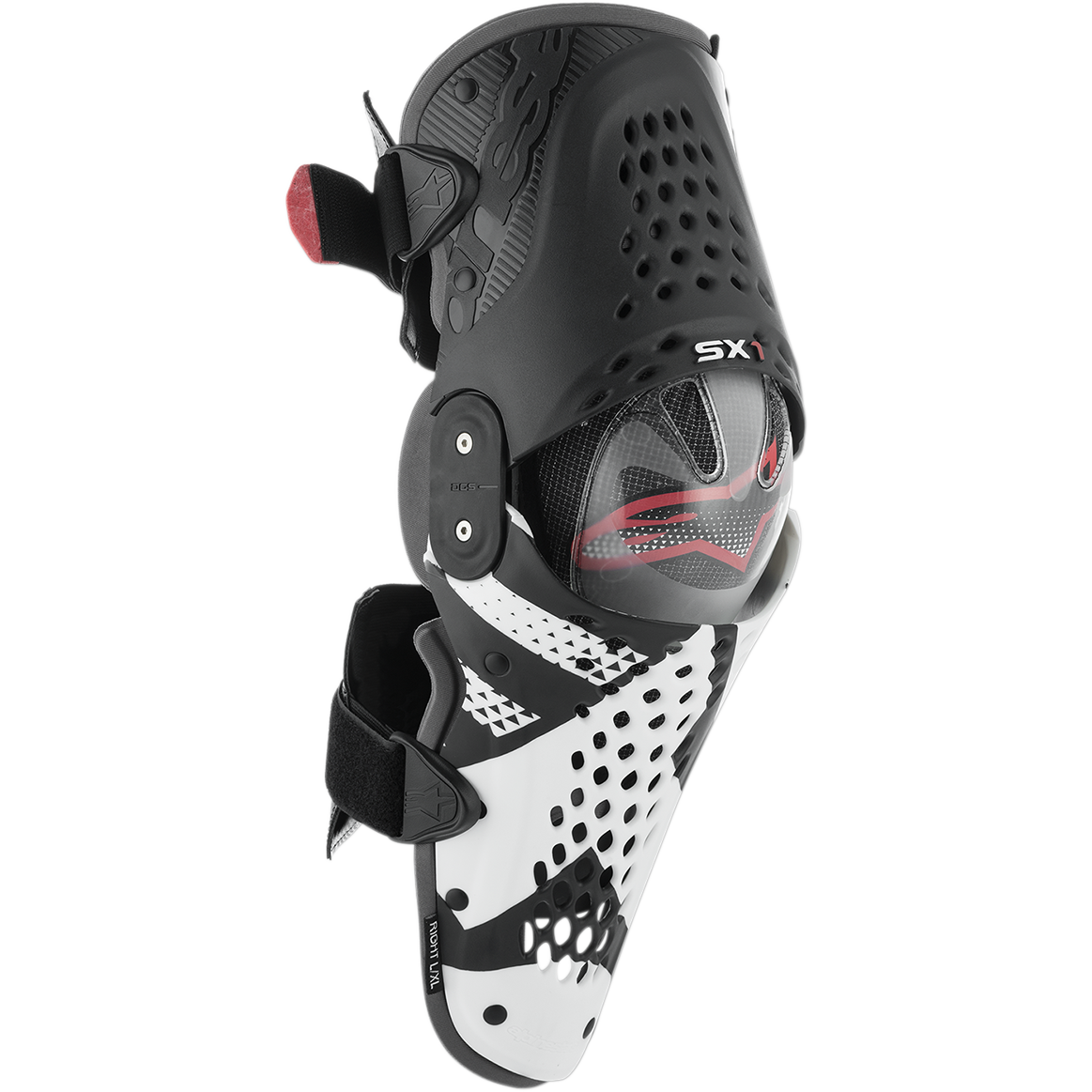 Alpinestars SX-1 Knee Guards-Black//Antracite-L//XL