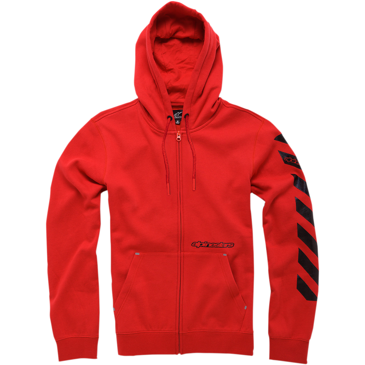 Debrief Fleece Zip-Up Hoodie