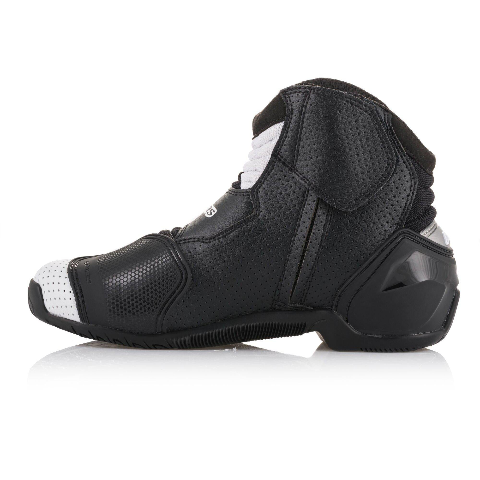 Black Choose Size ALPINESTARS SMX-1 R Vented Low-Cut Motorcycle Riding Boots