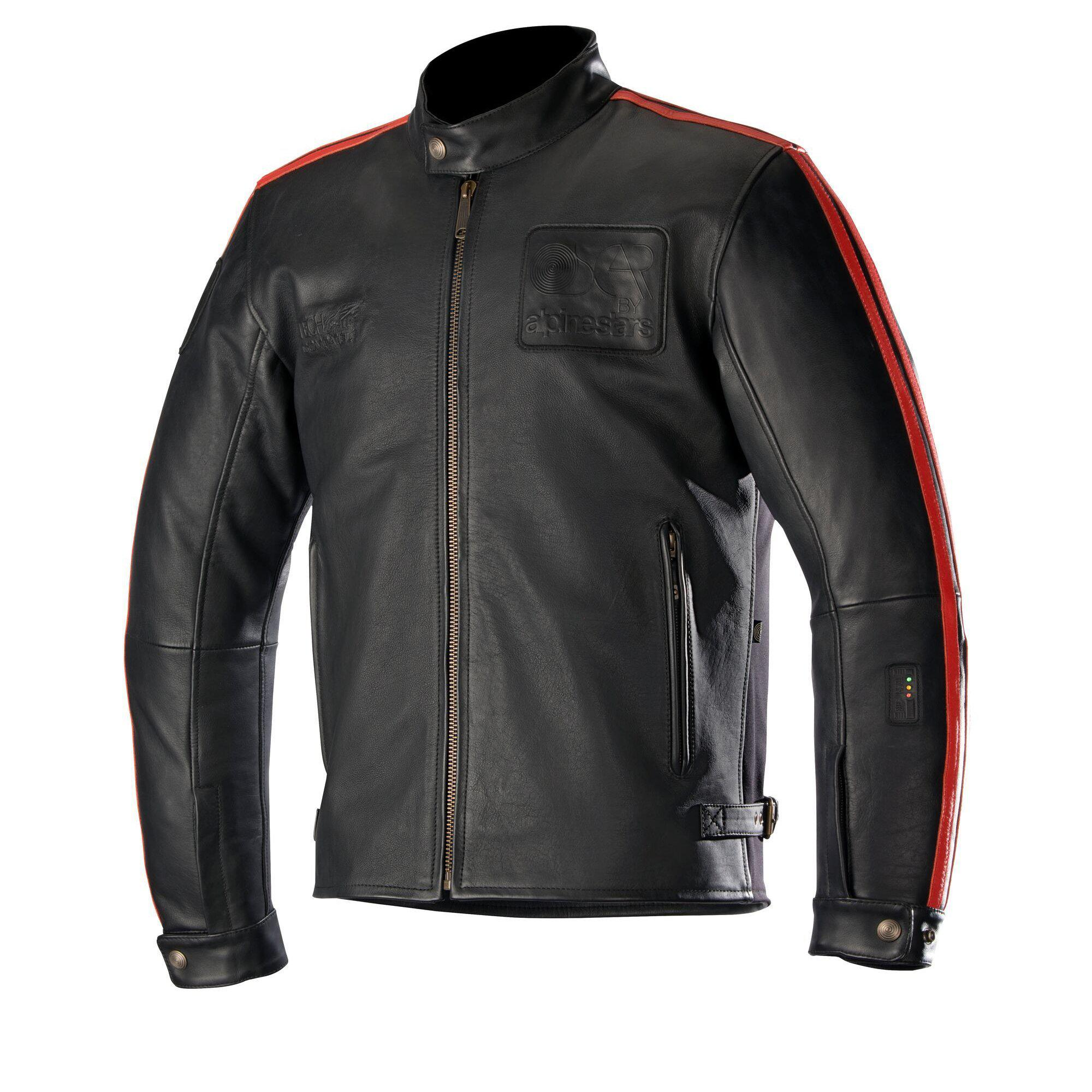 Oscar Charlie Leather Jacket Tech-Air® Compatible