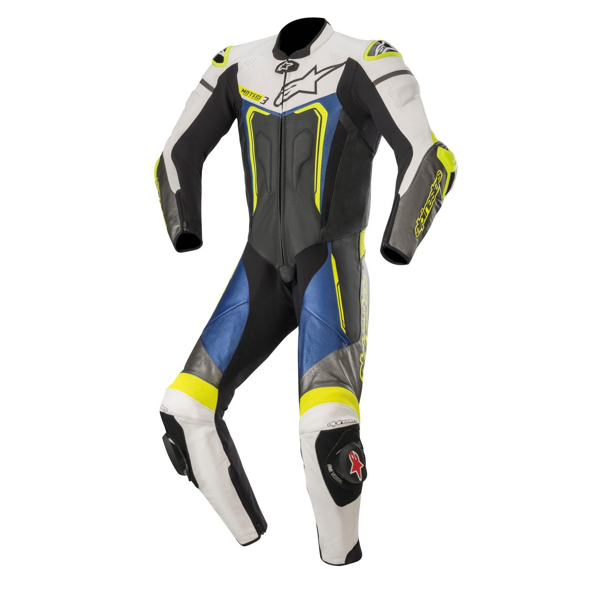 Motegi V3 Leather 1-Piece Suit