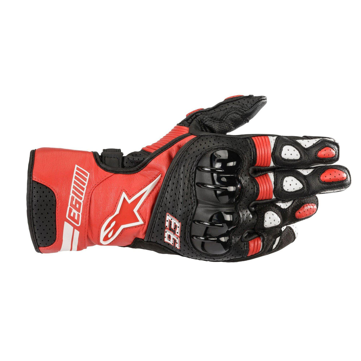 MM93 Twin Ring Leather Glove