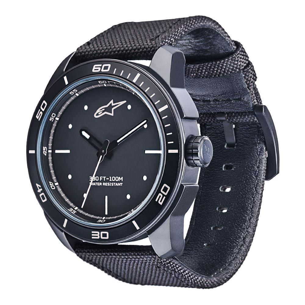 Tech Watch 3H Black-Black/White