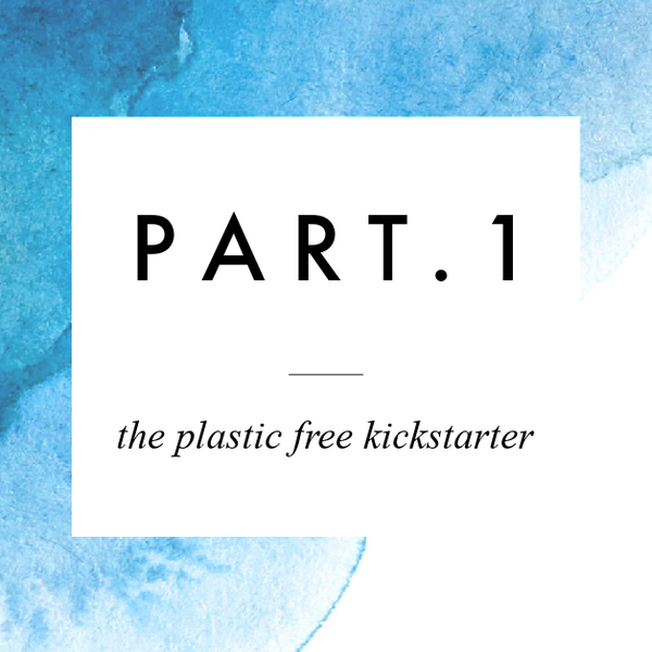 The Plastic Free Kickstarter | Part 1 .