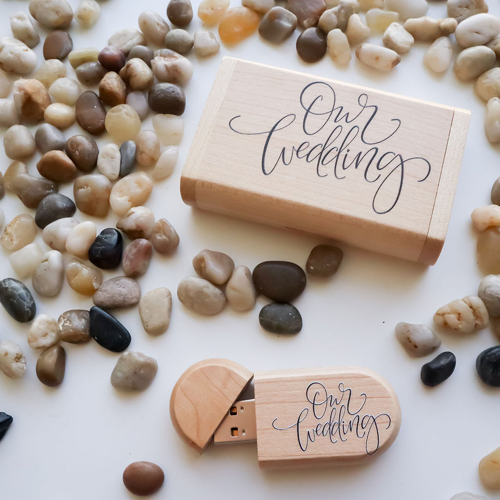 Our Wedding USB