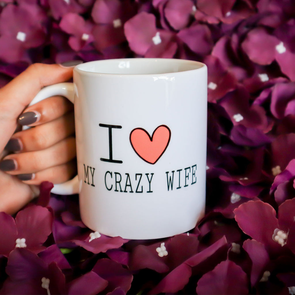 Love My Crazy Wife Mug