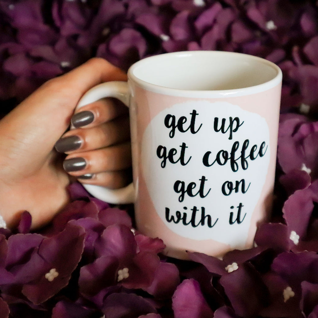 Get Up Get Coffee Mug
