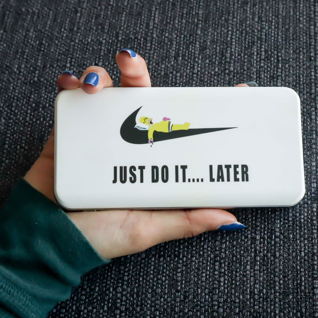 Just Do It Later Wireless Power Bank