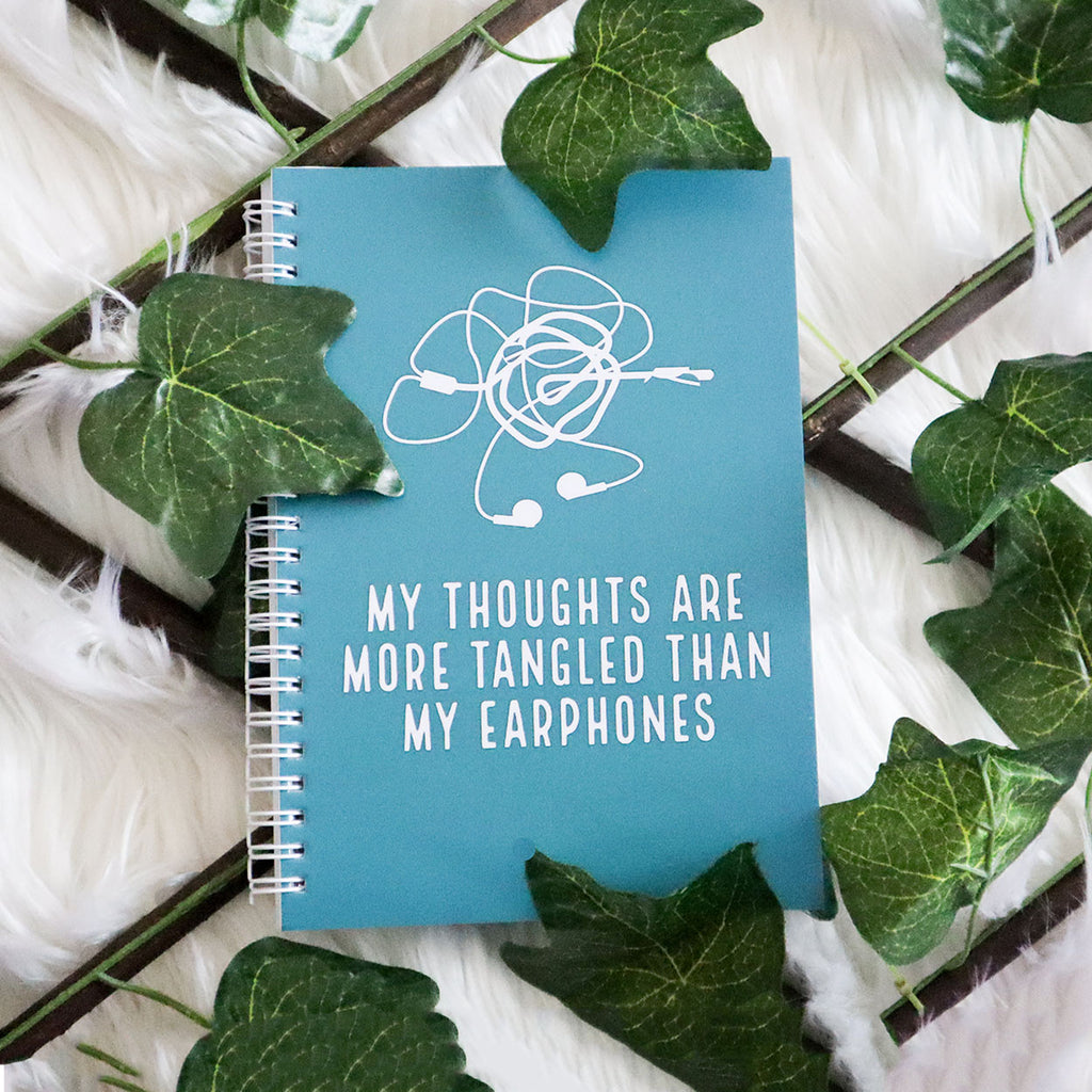 My Thoughts Are More Tangled A5 & A6 Notebook