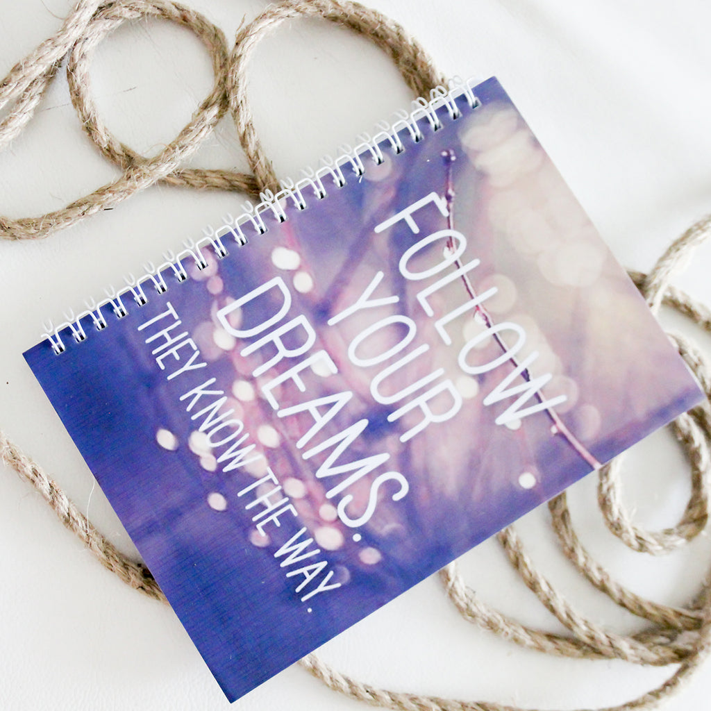 Dreams A5 Notebook