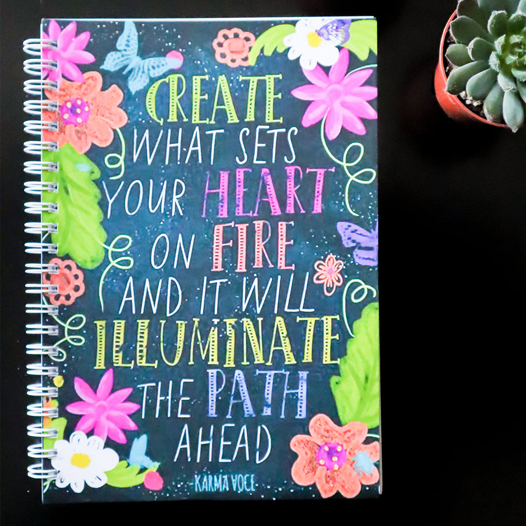 Create & Illuminate Notebook