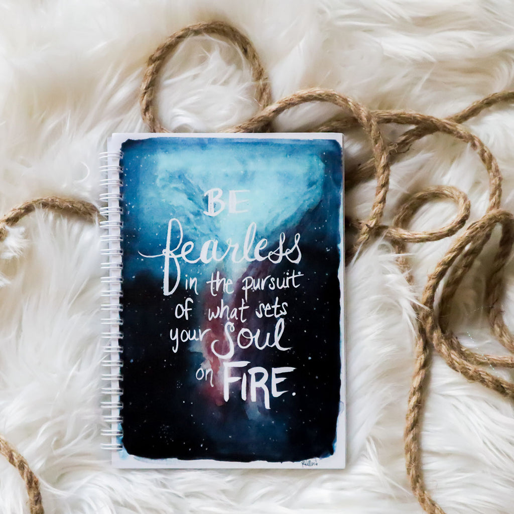 Be Fearless in Your Pursuit Notebook