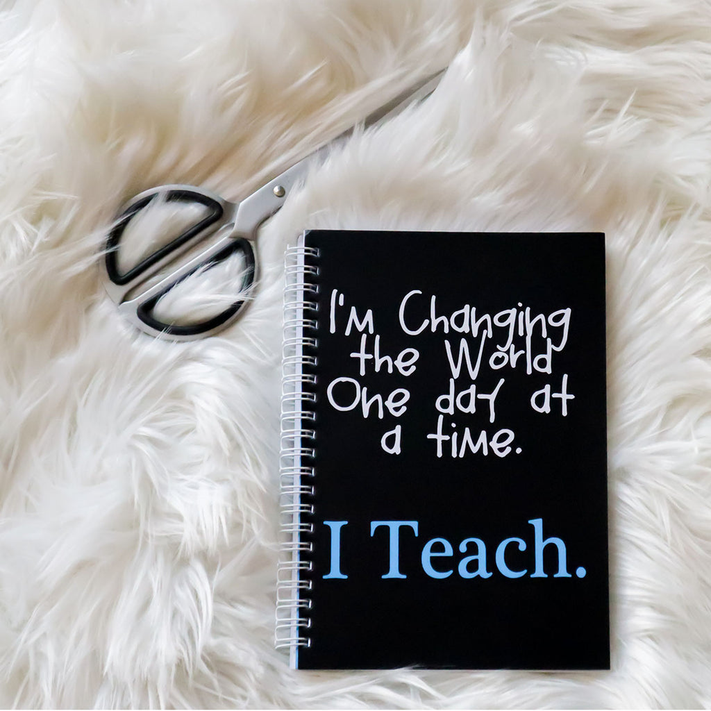 I Teach A5 Notebook