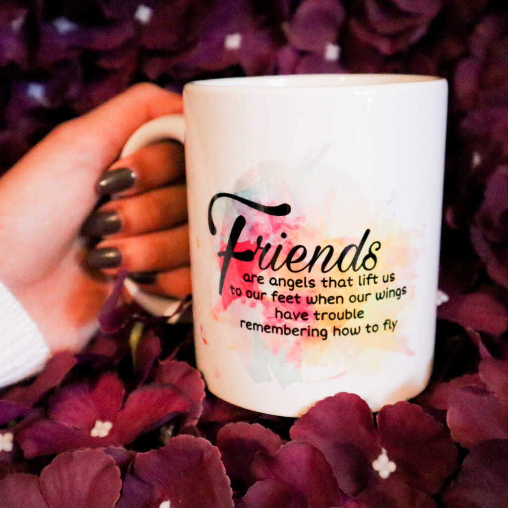 Friends Are Angels Mug