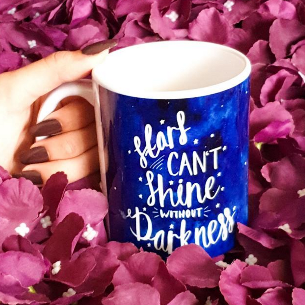 Stars Don't Shine Without Darkness Mug