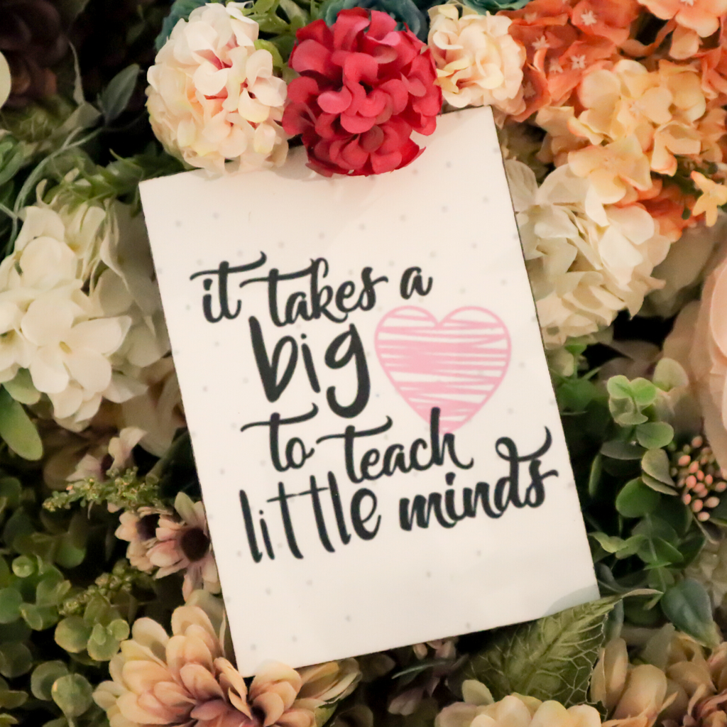 Teacher's Big Heart