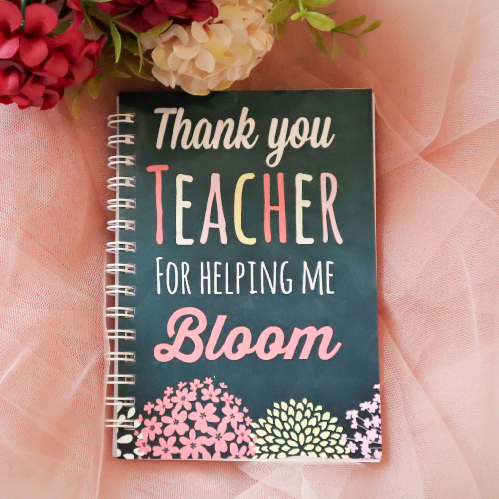 Thank You Teacher A6 Notebook