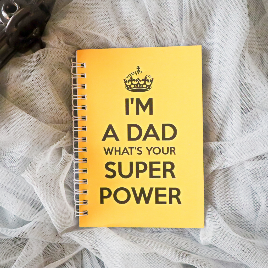 Super Dad A6 Notebook