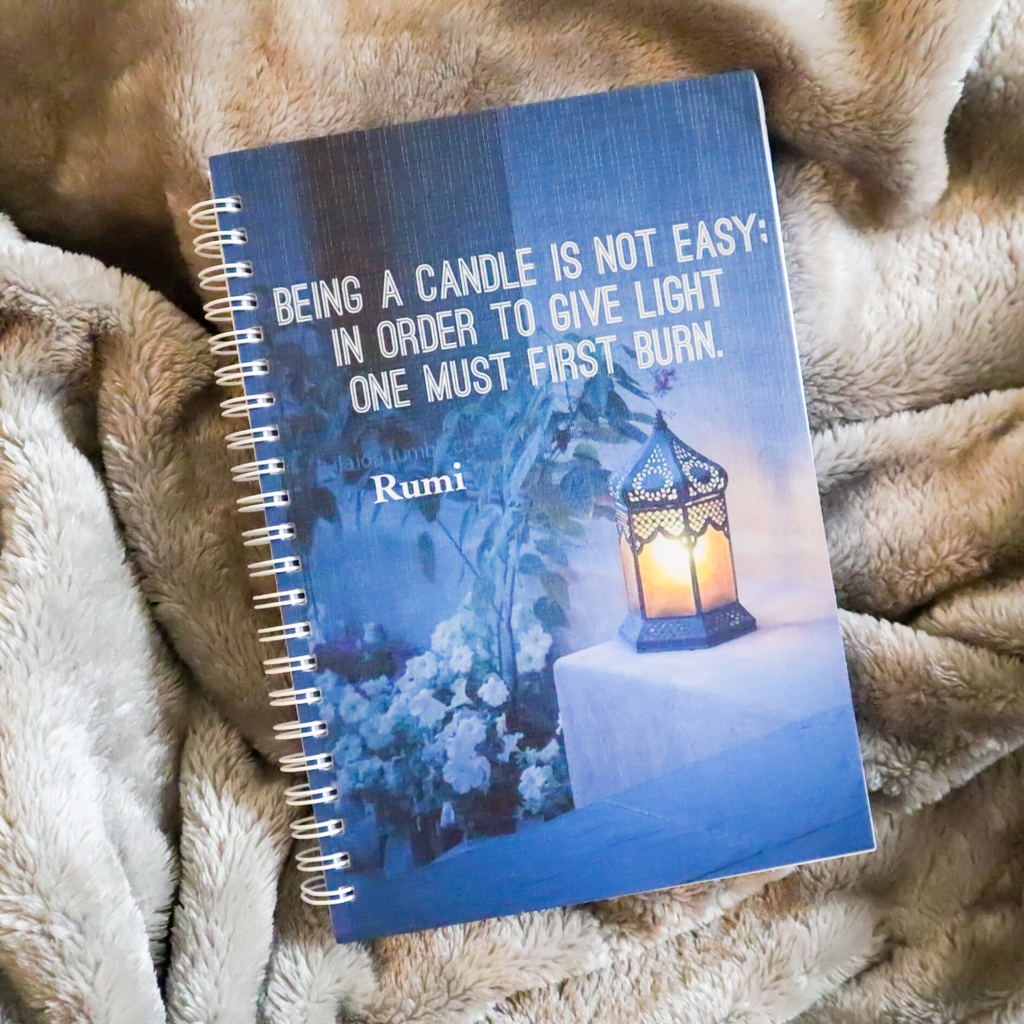 Rumi Inspirations A5 Notebook