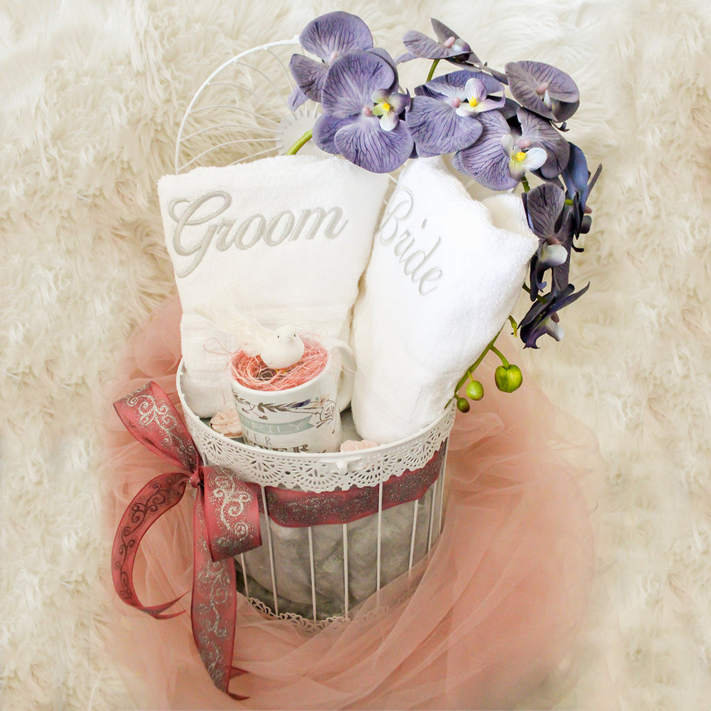 Baskilicious |Wedding Bells | Gift Baskets, Hampers, UAE, Dubai