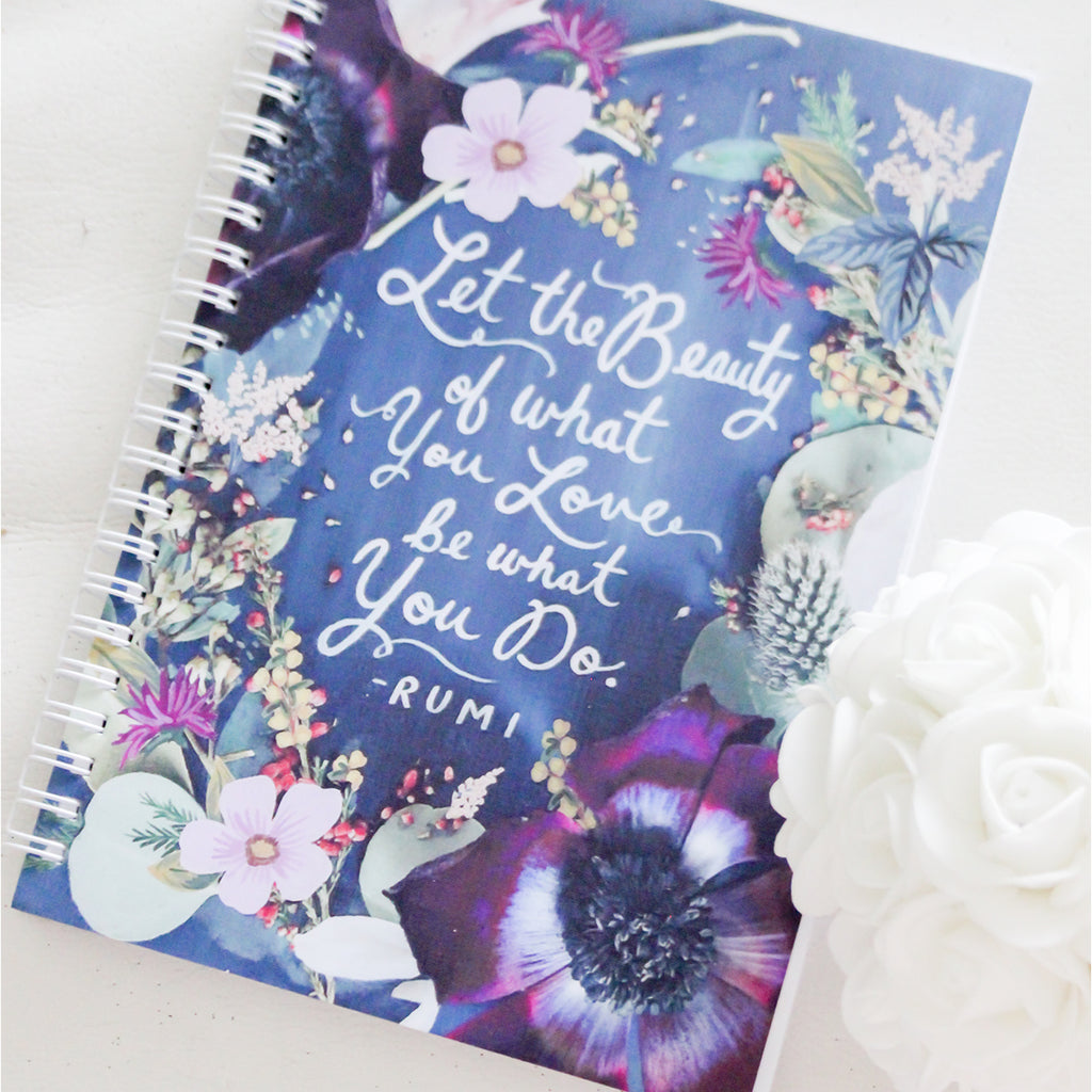 Beauty A5 Notebook