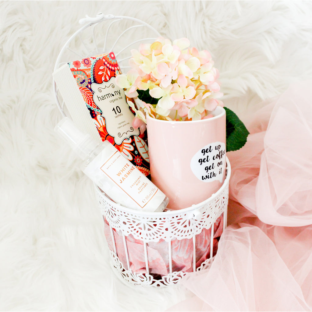 Baskilicious |The Touch Of Rose Gold | Gift Baskets, Hampers, UAE, Dubai