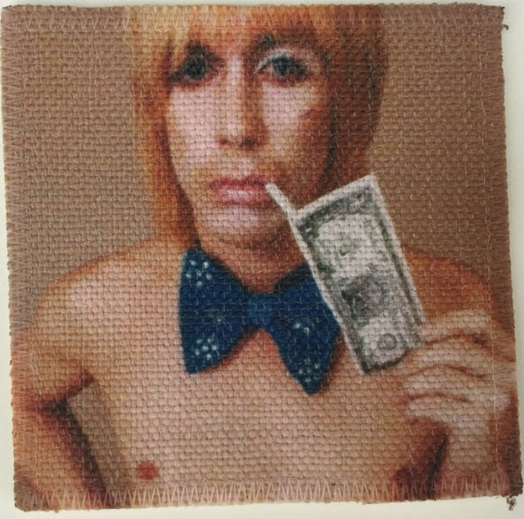 Iggy Pop Linen Patch