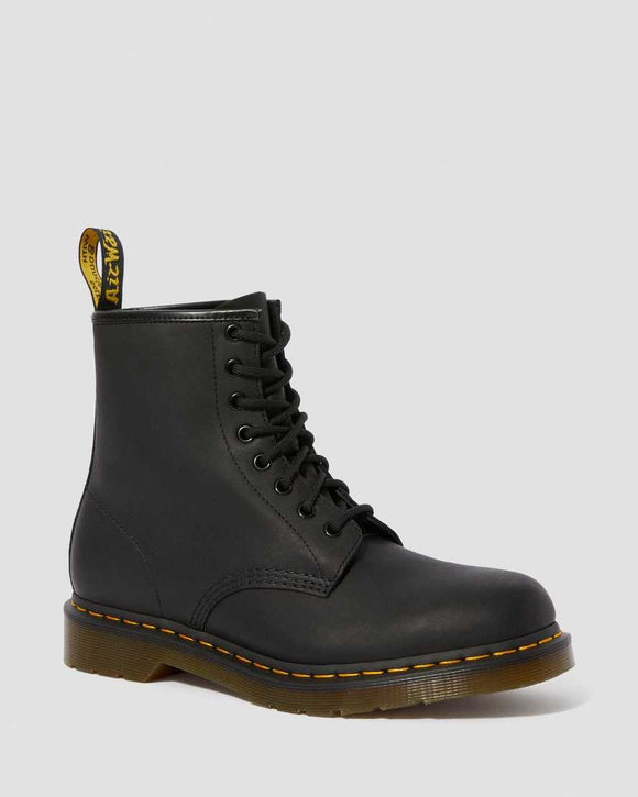 1460 GREASY BOOT BLACK