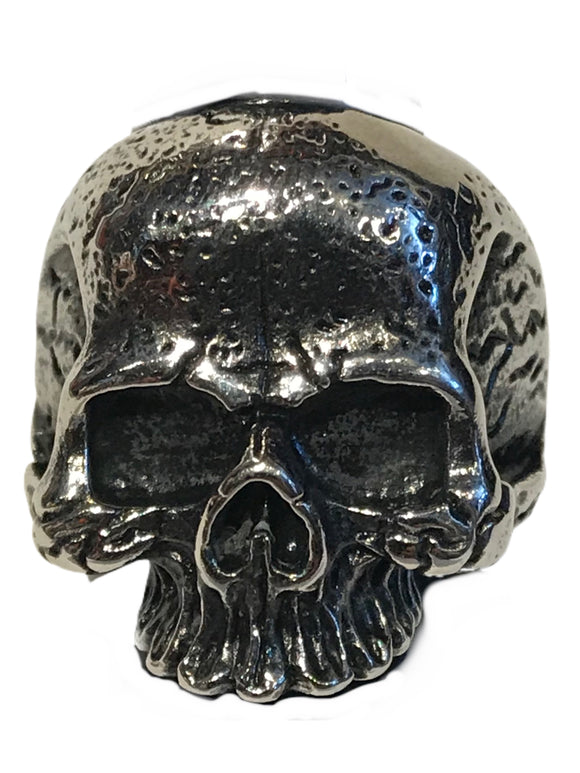 Jawless distressed skull