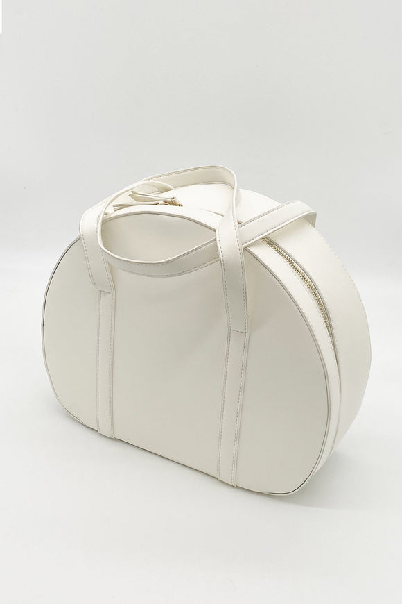 Retro White Travel Bag