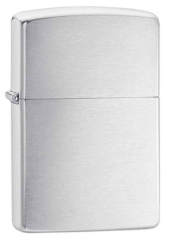 Classic Brushed Chrome Lighter