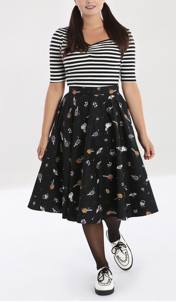 Trick or Treat Swing Skirt