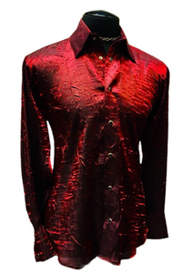 Red Shimmer Shirt