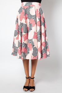 Isabella Umbrella Flare Skirt