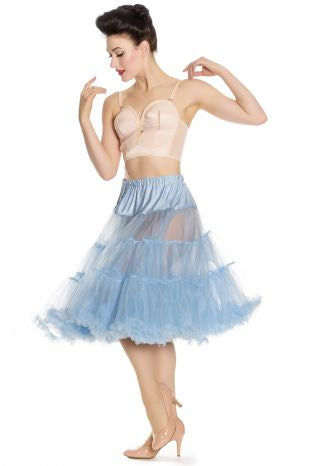 Blue Long Petticoat