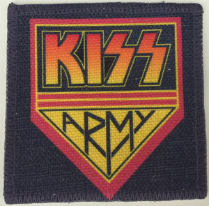 KISS Army Linen Patch