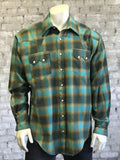 Green Plush Flannel Shirt