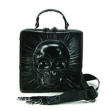 Encased Skull Crossbody