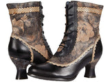 Bewitch Black Floral Boot