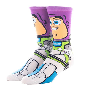 Toy Story Buzz Lightyear Character Socks