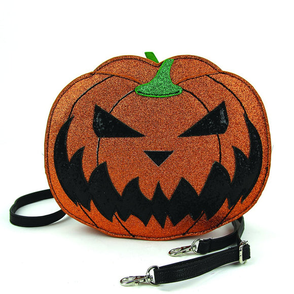 Two Faced Pumpkin Purse